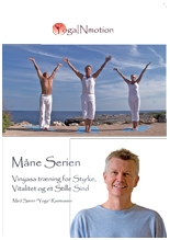 Måneserien Yoga in Motion DVD