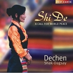 Shi De: A Call for World Peace CD